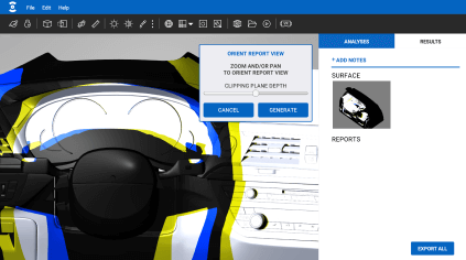 Ocular3D Features - Immersive Visualization 3. Create & Download reports